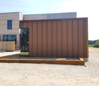 """1.5"""" mechanically locked standing seam, Double lock standing seam, Single lock standing seam, Aluminum roofing, Galvalume roofing"""