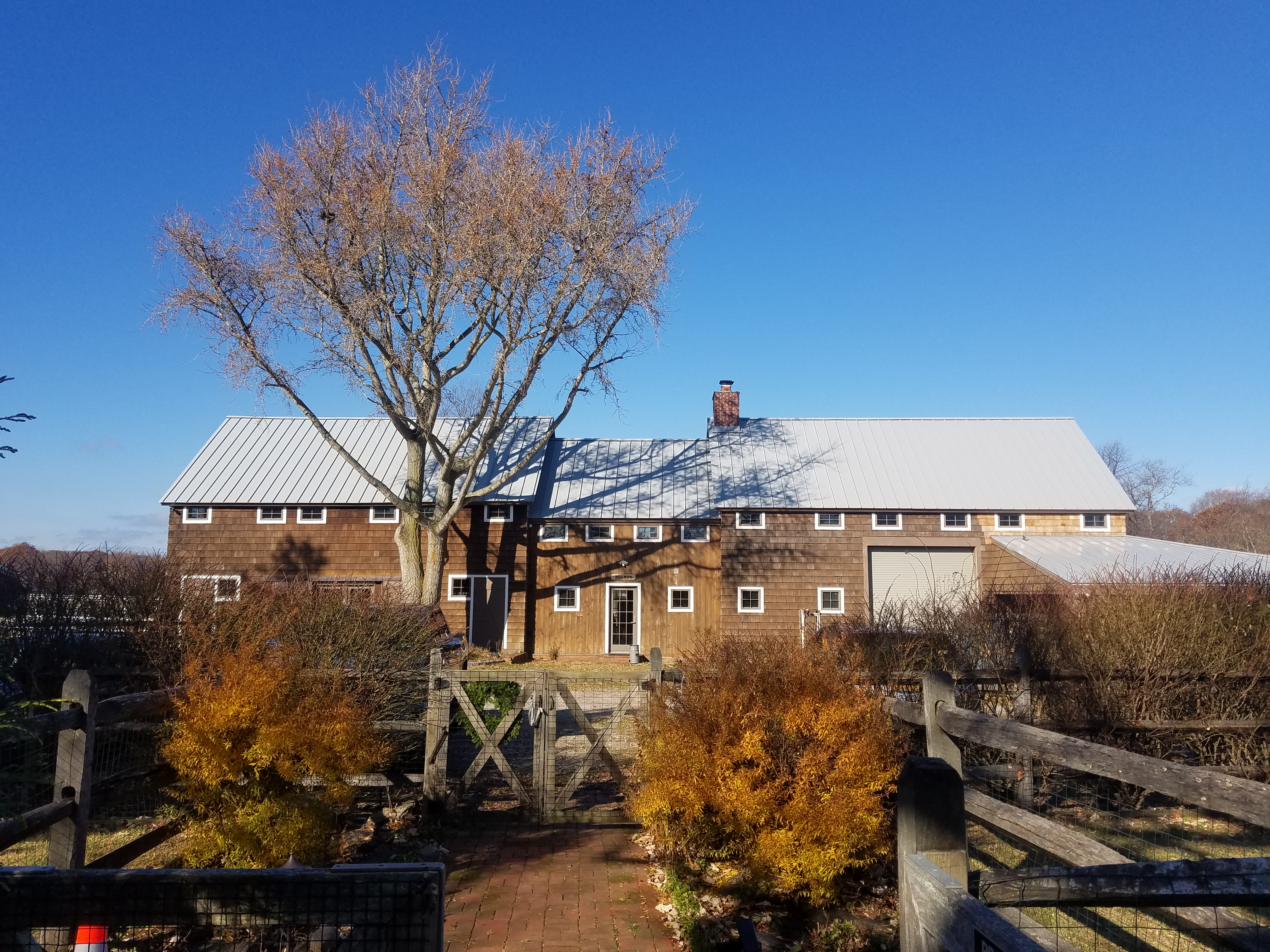 Metal Roofing - protect the old