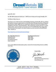 NCBP DM-ARM Certification Letter